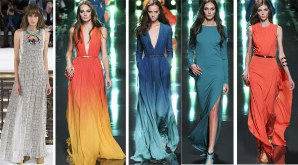 Мода на платья 2015 год фото