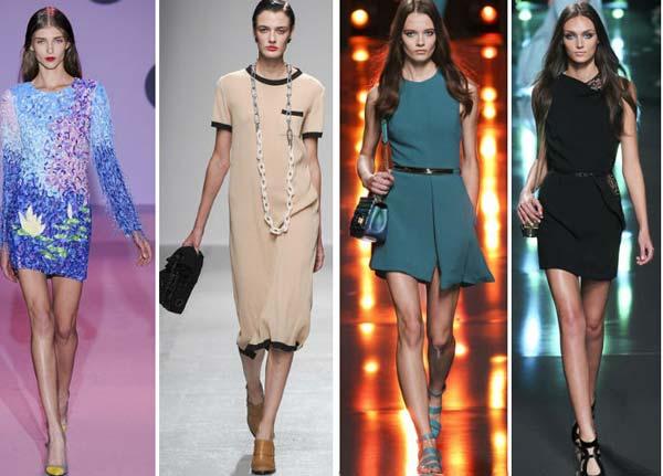 Джинсовые платья 2015 года на фото, модные модели: платье-рубашка
