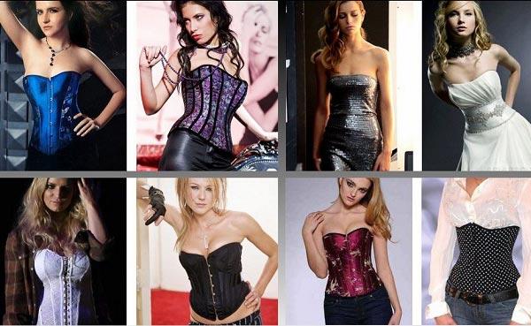 корсеты женские кожаные фото