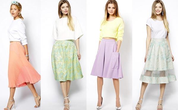 Какие носить юбки кому за 30