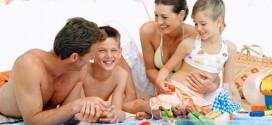 Летний отдых на пляже: вкусный и энергичный