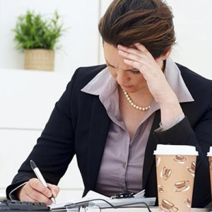 Лишний вес от работы?