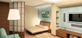 Как оптимизировать пространство в однокомнатной квартире