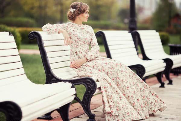 Влияние длинного платья на женственность