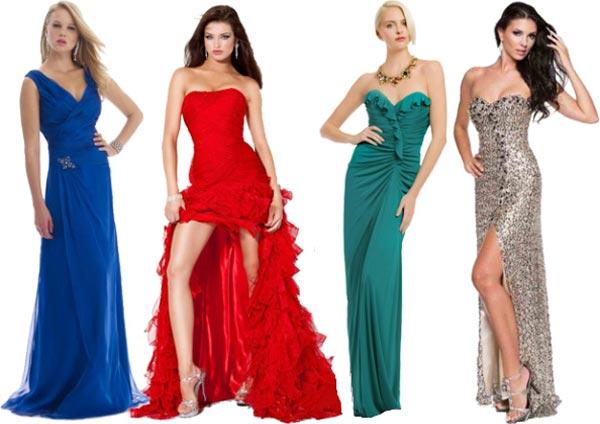 Какое выбрать платье на новый год
