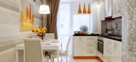 Комфортная, функциональная маленькая кухня (фото)