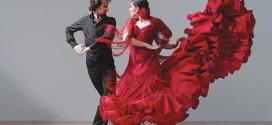 Страстный танец фламенко