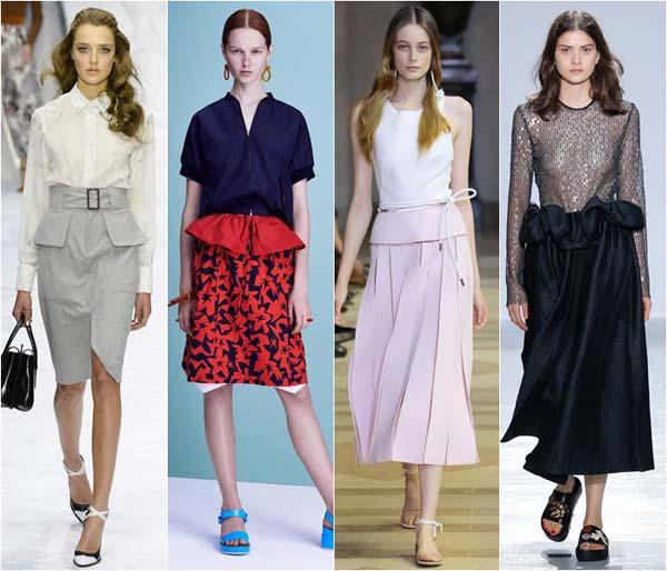 Модные юбки лета 2016