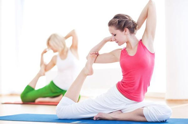 Йога помогает и душе, и телу