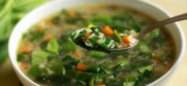 Вегетарианский щавелевый суп