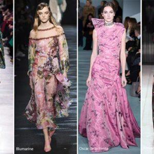 Модная палитра и принты осени 2016