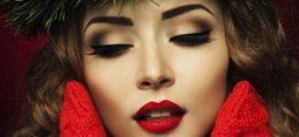 Позаботьтесь о «новогоднем» макияже заранее
