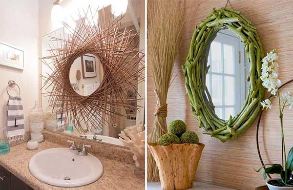 Идеи, как украсить зеркало своими руками (фото и видео)