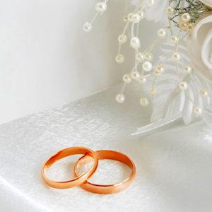 Свадебные кольца - незаменимый предмет свадьбы