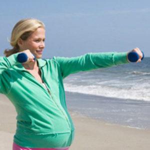 Активная беременность: следим за своим весом