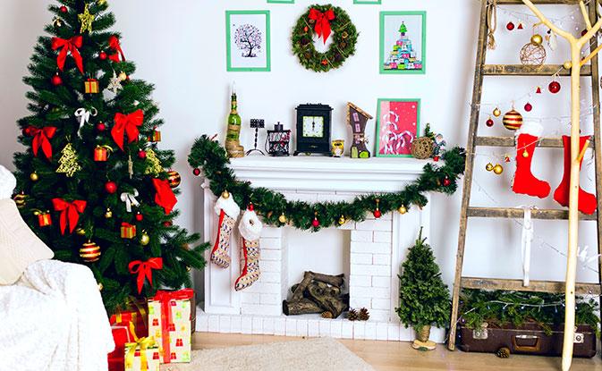 Украшаем дом к Новому году: актуальный декор