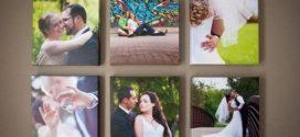 Печать фото на холсте — оригинальный подарок на день Святого Валентина