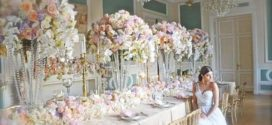 Декорирование свадьбы цветами
