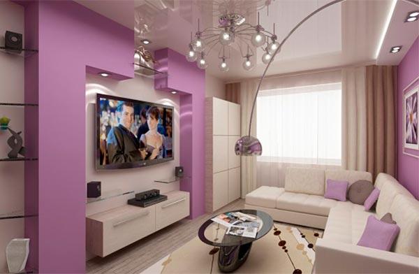 Интерьер гостиной: какой цвет выбрать? (фото)