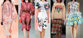 Модные тенденции сезона весна-лето 2017