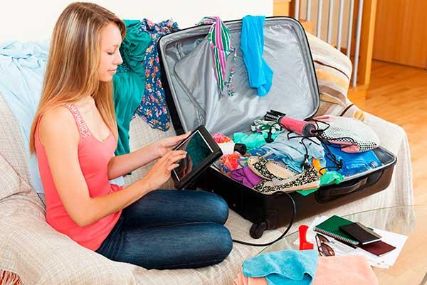 Что взять с собой в чемодан?
