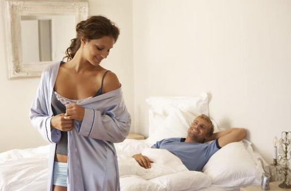 Сексуальное обольщение мужа