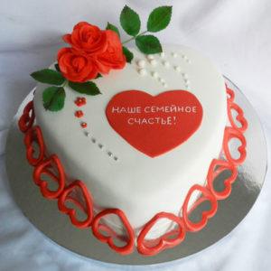 Торты на годовщину свадьбы