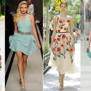Модные летние платья 2017