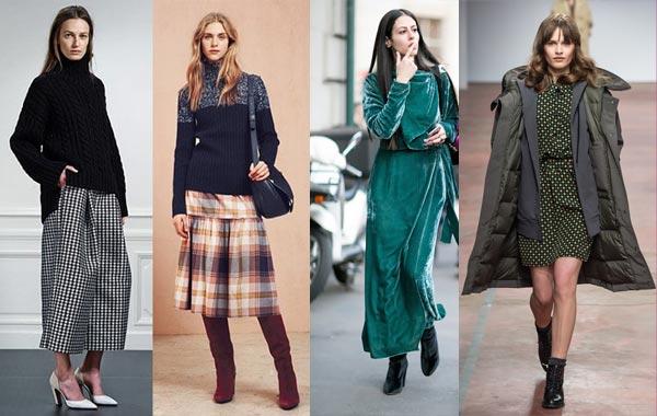 Модные тенденции в одежде на сезон осень - зима 2017