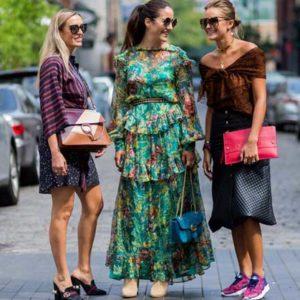 Уличная мода в 2017 году