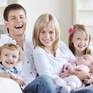 Когда в семье трое детей