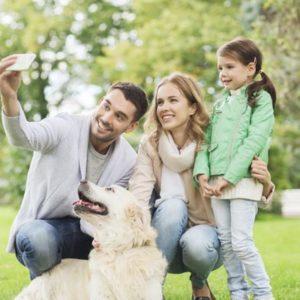 Гармоничная семья: мама, отчим, я