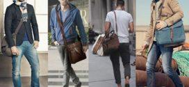 Мужская сумка и ее хозяин