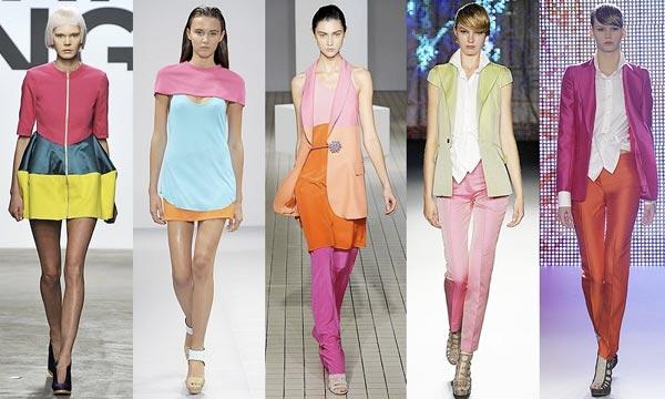 Новинки цветовой гаммы в создании модных образов
