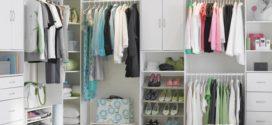 Удачное решение — организация отдельной гардеробной зоны
