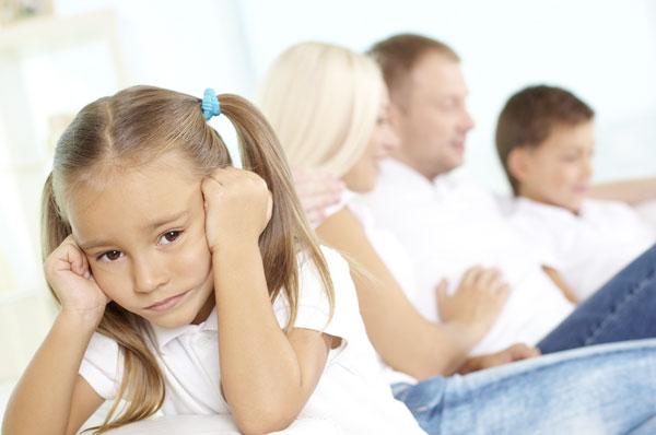 Отношения с детьми от первого брака