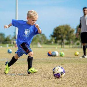 Детские бутсы для юного игрока