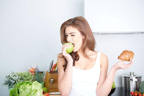 Как перестать есть вредную пищу