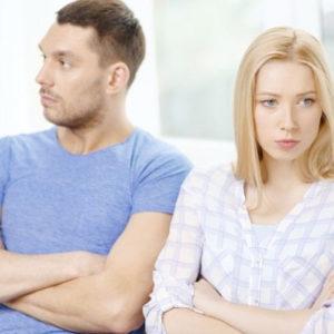 Семейные ссоры приводят к разводу