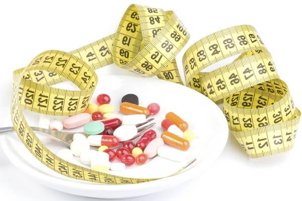 3 вида средств для похудения