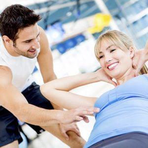 Персональный тренер как «средство для похудения»