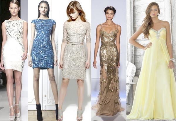 Какое выбрать платье для встречи Нового года