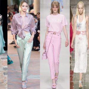 Модные тенденции весны 2018