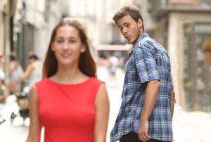 На что мужчины обращают внимание в первую очередь?