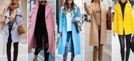 Модные пальто для весны 2018