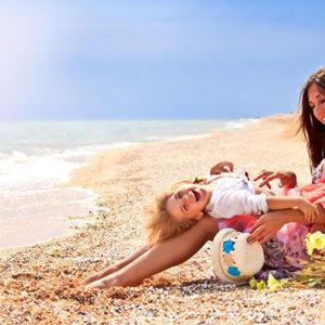 На отдых с ребенком