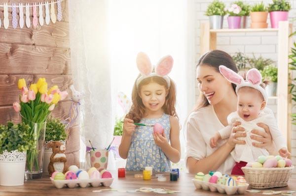 Пасха 2018. Как необычно раскрасить яйца (10 фото)