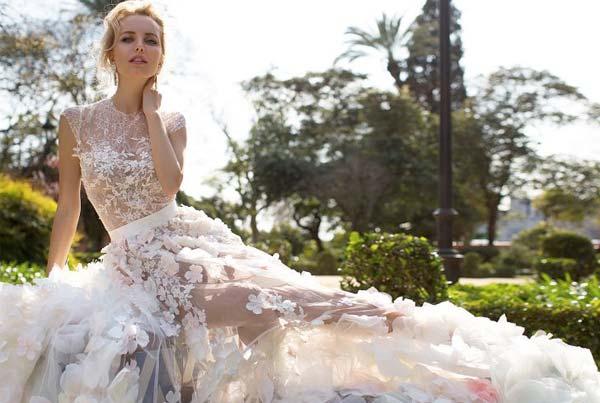 Модные тенденции свадебной моды 2018