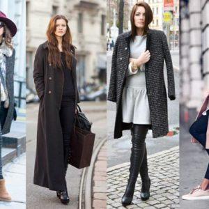 Модные шерстяные пальто 2018