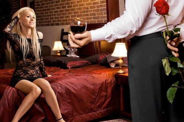 Сценарии романтического вечера